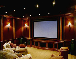 Home theater install, home theater structured wirng install